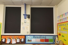 Manor Court Primary School - Full Cassette Black-Out Roller Blinds