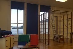 St Teresa's School - Replacement Hall Roller Blinds.