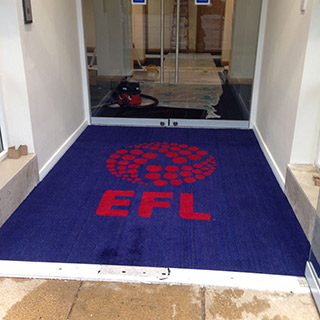 Entrance Matting supplied by Birch Commercial Furnishings